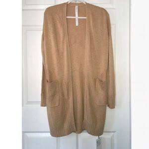 Lululemon Athletica Cashmere Blend Wrap Sweater